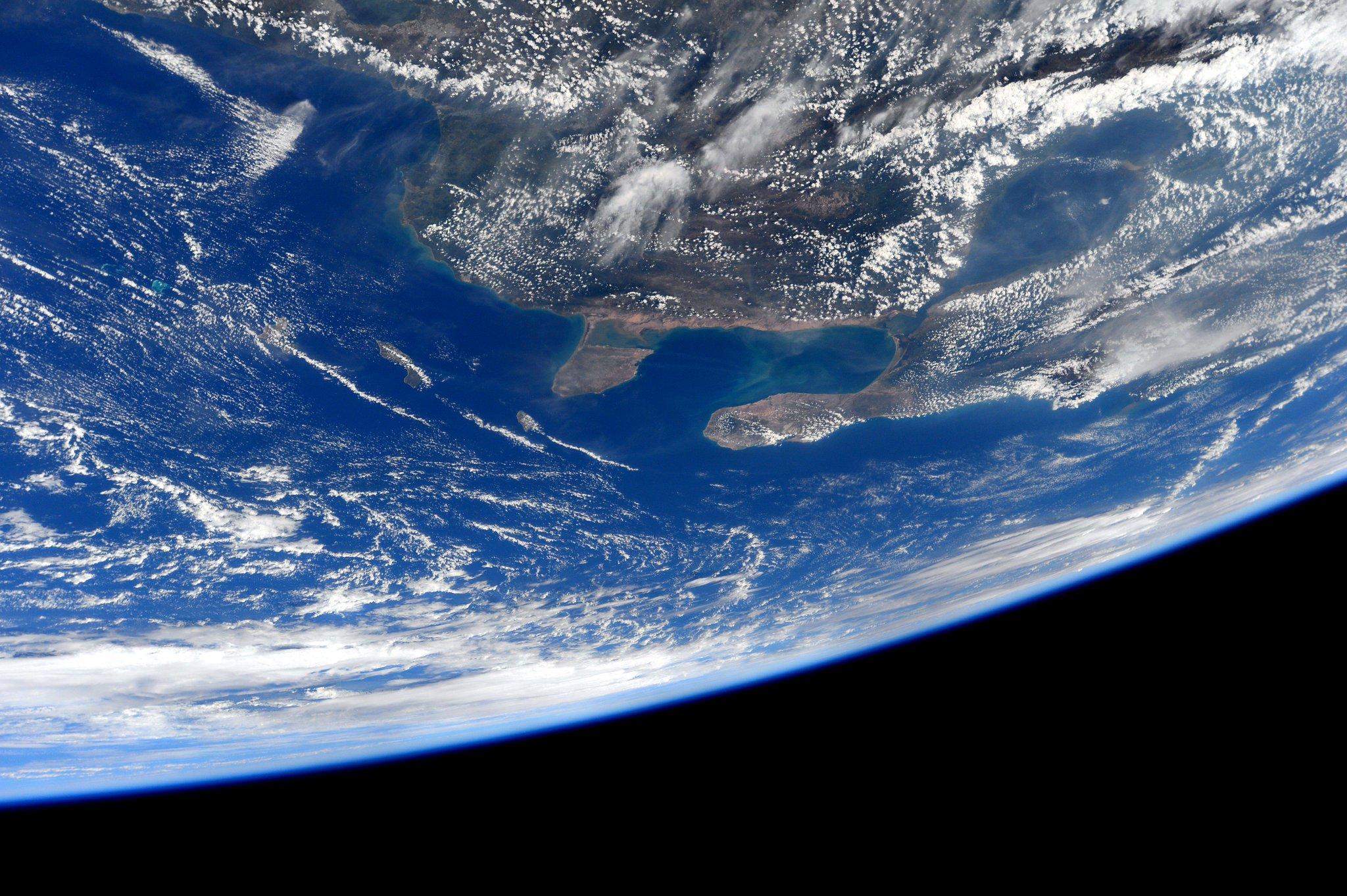 Venezuela desde la Estación Espacial internacional - Sam Cristoforetti