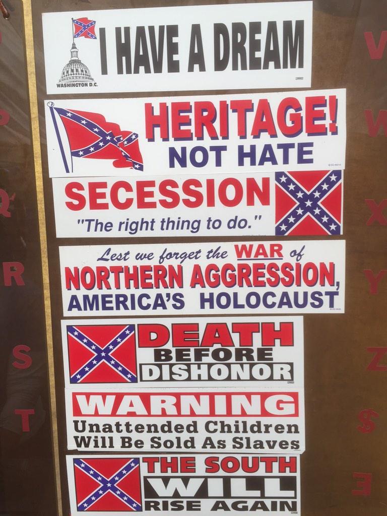 Interesting swag at brooksville raid civil war reenactment this MLK weekend http://t.co/Qv9u8PDIuC