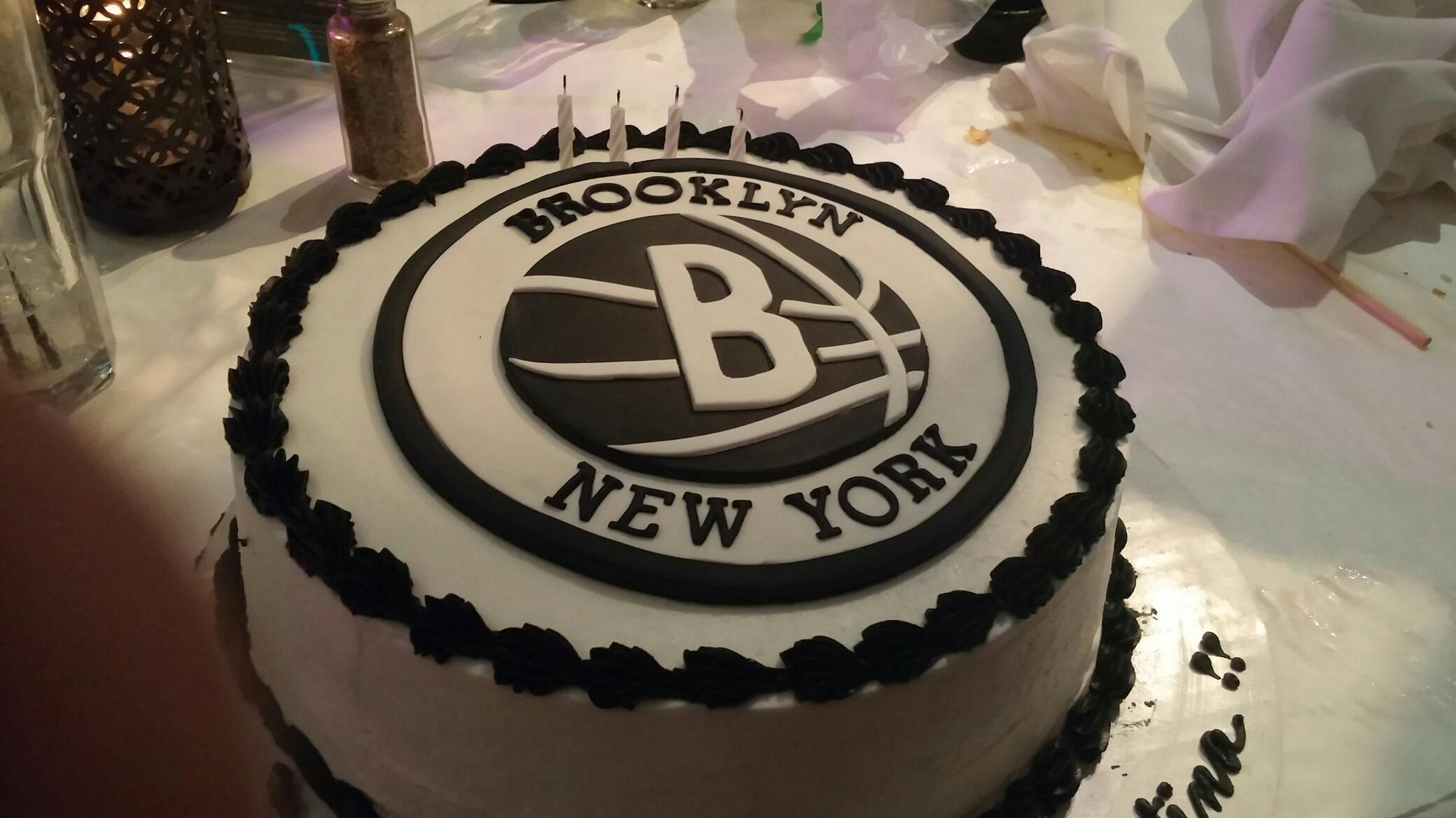 Superb Brooklyn Nets On Twitter Best Cake Ever Happy Birthday Rt Funny Birthday Cards Online Inifodamsfinfo