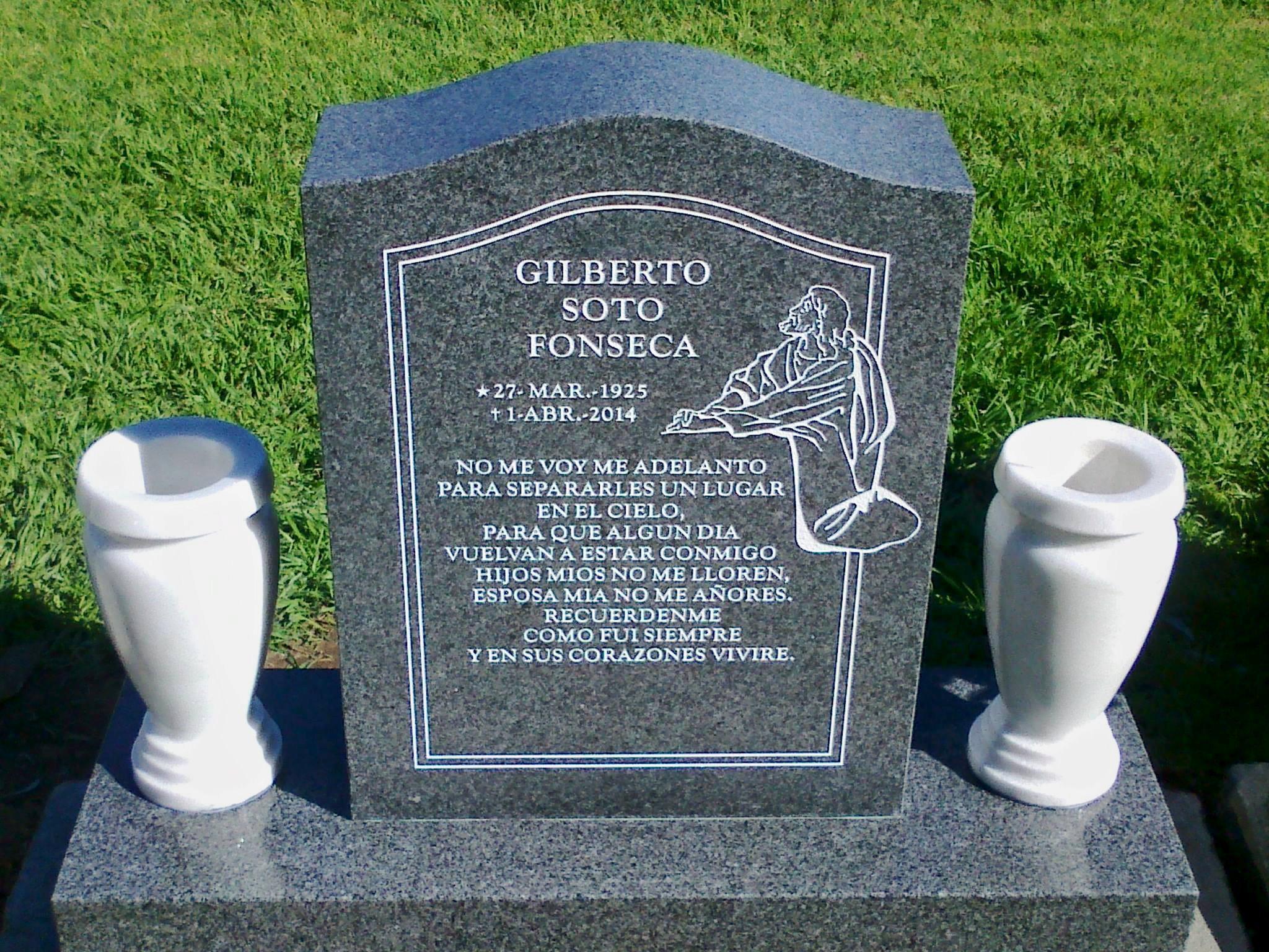 Monumentos velasco on twitter monumento de granito for Lapidas de marmol