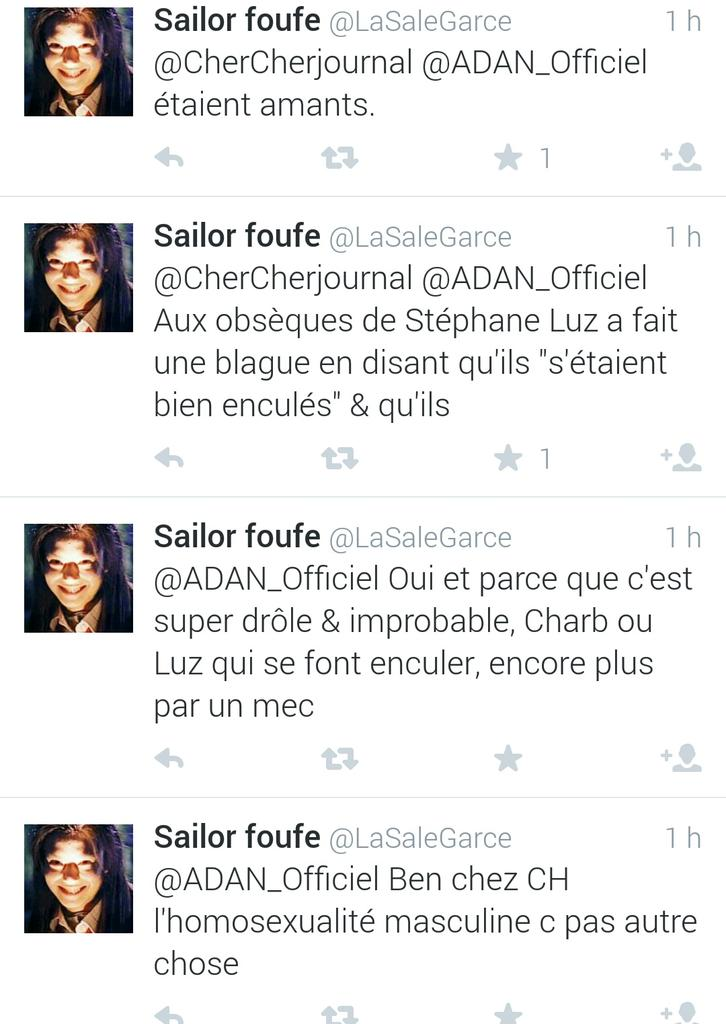 blague homophobe