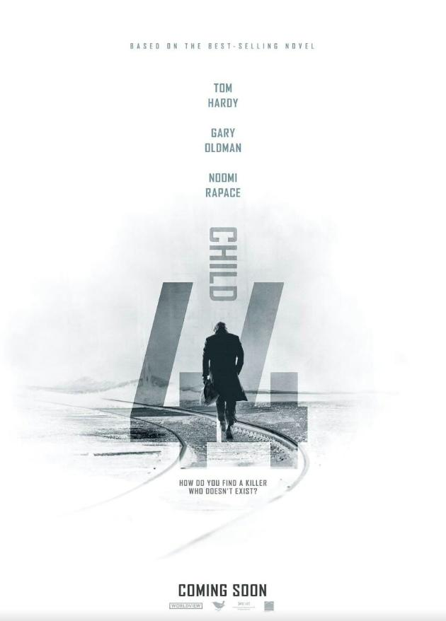 Here's a poster for #child44 which stars Noomi & #tomhardy. It's out in April /May. See http://t.co/hIpLeHzT7Y http://t.co/ceeWQhXQ2J