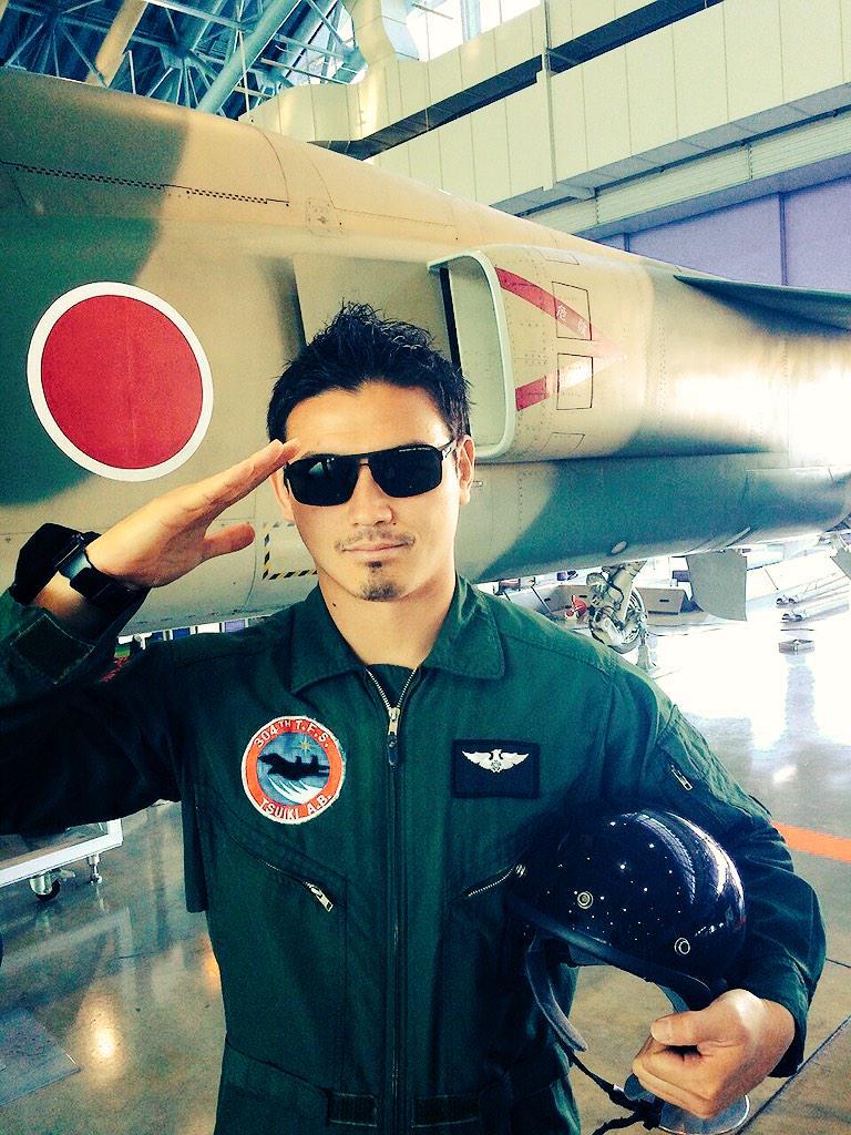 パイロットの五郎丸歩がかっこいい