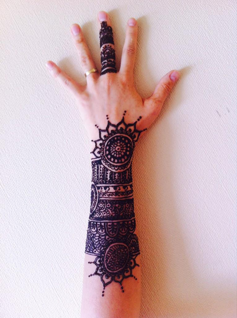 "Marwa Danza Oriental on Twitter: ""¡Tatuajes de Henna! decorativos ..."