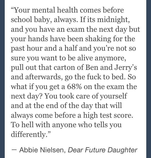 mental health is