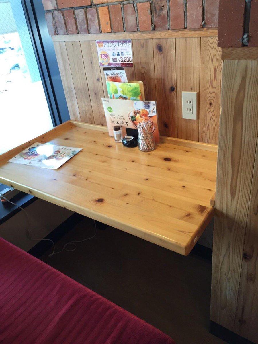 ない、、、と思いきや、禁煙2人掛けテーブル窓際と通路側に2口x2箇所あり。 (@ コメダ珈琲店 巣鴨店 in 豊島区, 東京都) https://t.co/kCYx0TCXL1 http://t.co/nQZKNUpOZI