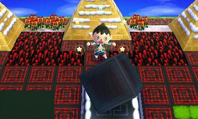 そういえばアマラ神殿完成しましたー!わーい!逆三角形は回るアート代用ですよー http://t.co/mDFZZuL0aq