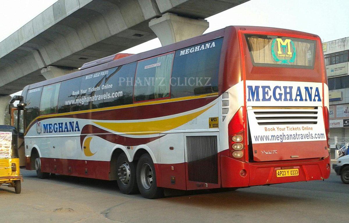 Phani Z Clickz On Twitter Meghana Travels Volvo B9r Multi Axle