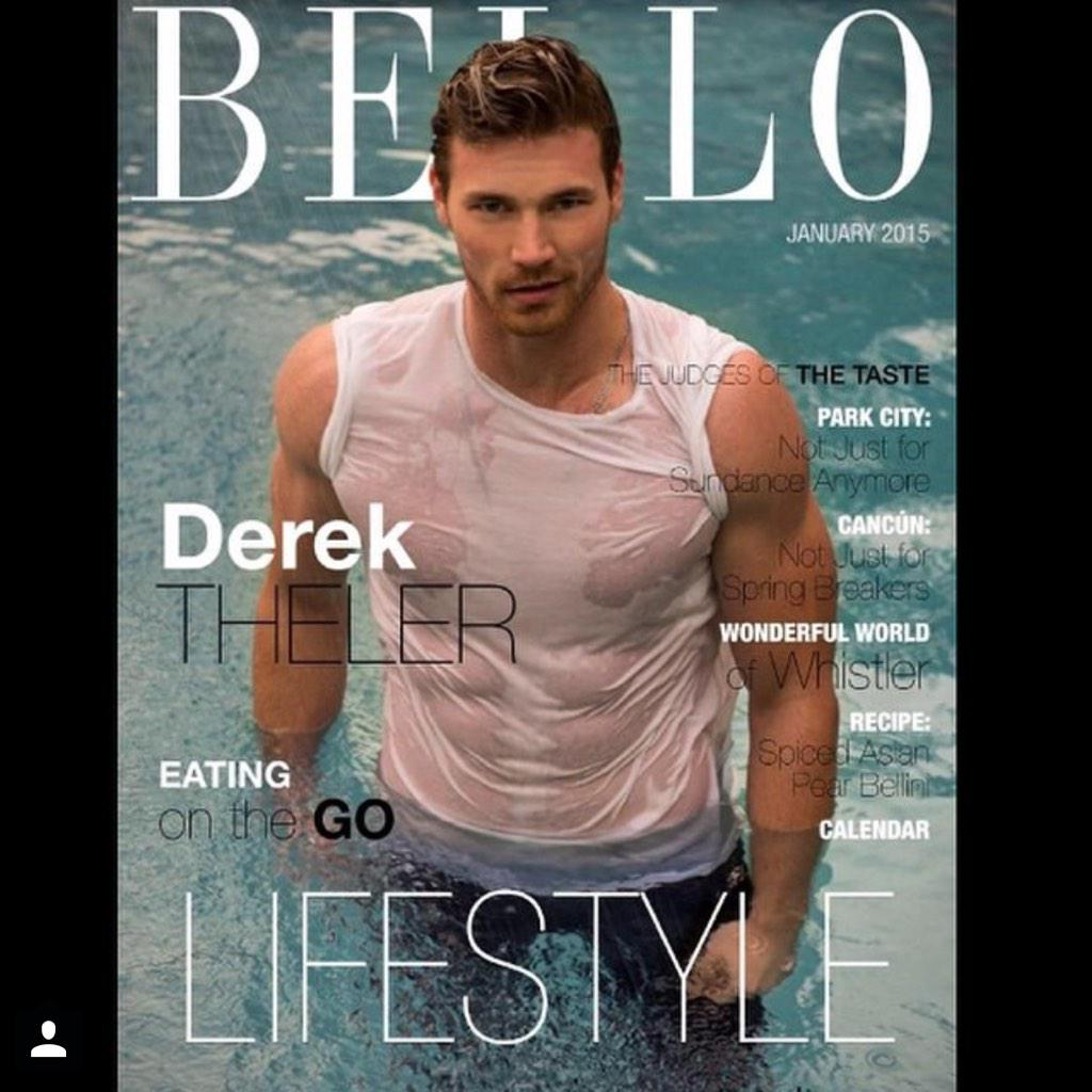 Pick up your copy of @bellomag to see stud @derektheler grace the #Lifestyle #Winter #Cover @coreprgroup http://t.co/uY4Axa3HP2