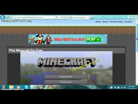 play minecraft free no download