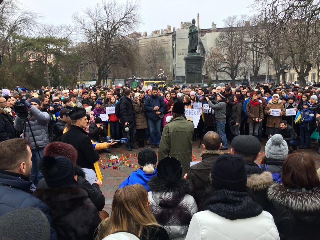 Мэры городов со всего мира выразили солидарность с украинским народом - Цензор.НЕТ 5829