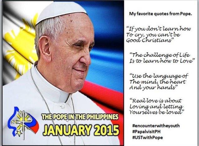 Mac Carillo On Twitter Love These Quotable Quotes From Pope Fascinating Pope Francis Quotes On Love