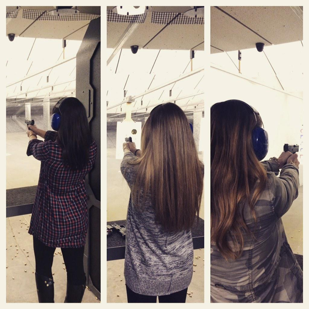 "Ashley Hajek On Twitter: ""Took My Roomies Shooting"
