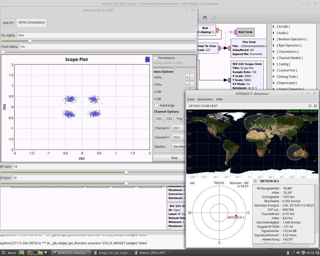 Otti On Twitter Just Released My METEOR M2 LRPT RX Flowgraph For GNU Radio Companion Github Tco WJoEGsrzsU 1nnDhrp2UF