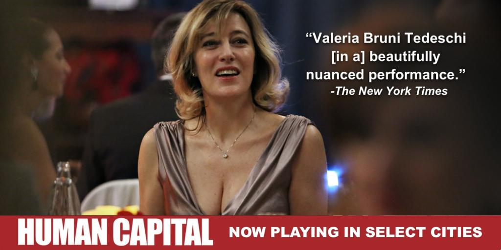 """""""[A] beautifully nuanced performance"""" #HumanCapital NOW PLAYING #NYC, #LA & #SF! For tickets: http://t.co/jZJWV4TdFb http://t.co/w8DRU9ZlCc"""