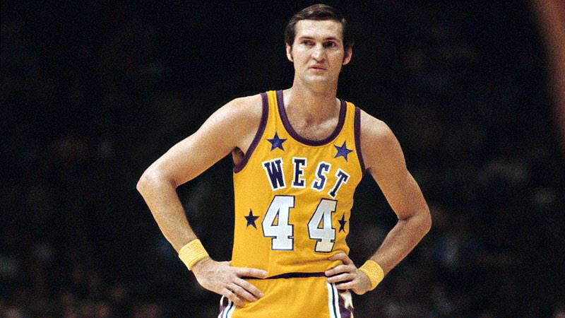 Mitchell /& Ness NBA Jerry West 1972 All Star West Authentic Basketball Jersey