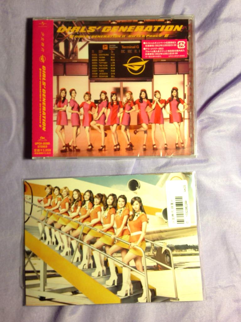 [SELLING] SNSD 2nd jpn album Girls & Peace unopened Japan edition with postcard $20 (shipping not included) #snsd http://t.co/14WS0qf2ox