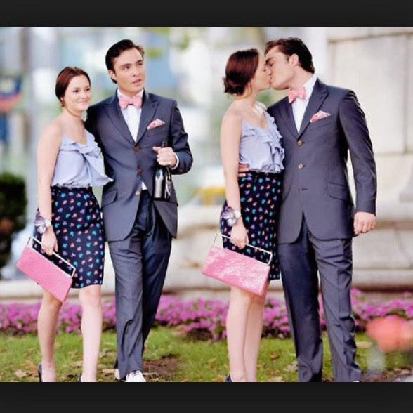 are blair and chuck dating in real life
