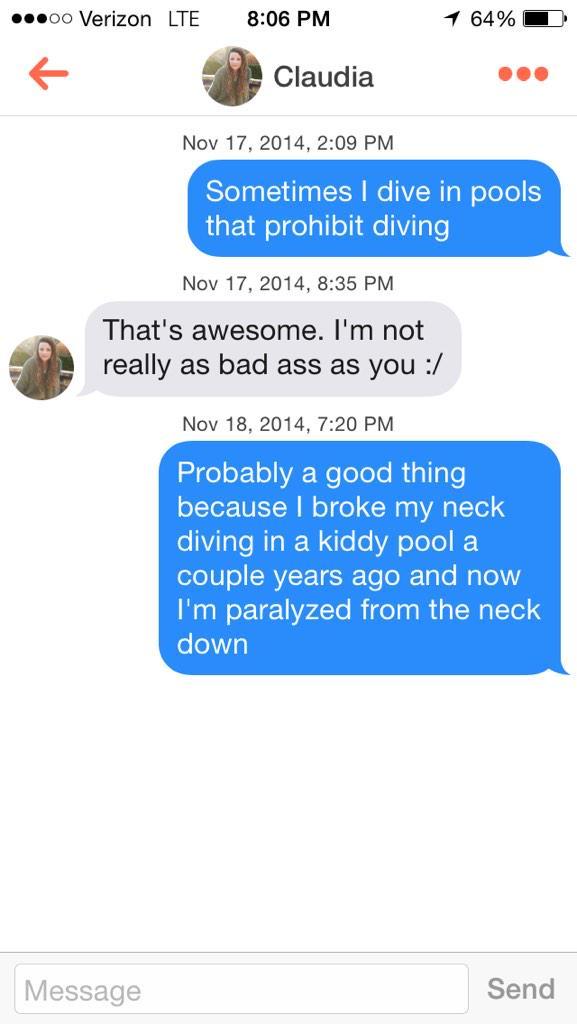 Tinder hookups