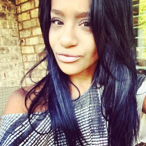 Foto Bobbi Kristina l'unica figlia di Whitney Houston