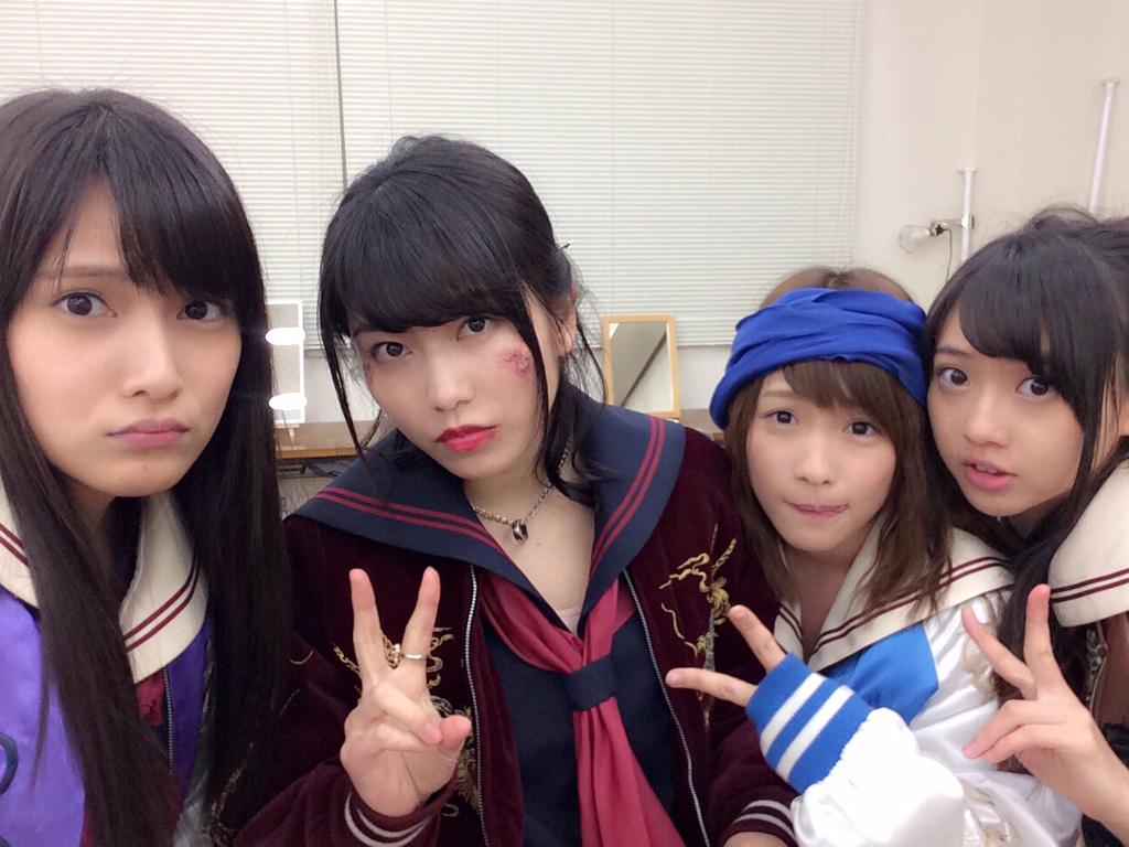 Anna Iriyama 入山杏奈 On Twitter ついに今夜24 59 マジすか学園4