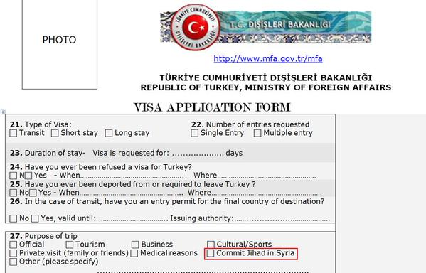 Elijah J Magnier On Twitter Turkey New Visa Form For Anyone