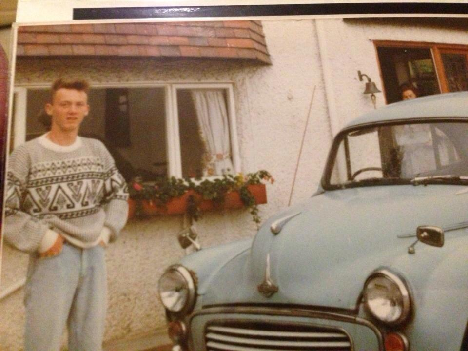 Drew Pritchard Antiques.Drew Pritchard On Twitter First Car And Me 1986 Http T Co