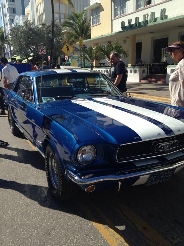 Mustang South Beach Miami