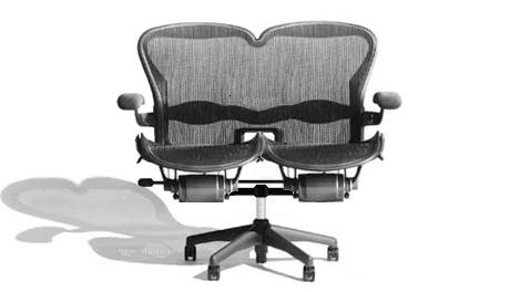 Cheeky Coder On Twitter Chair For Pair Programmers Http T Co C5demdlkzm