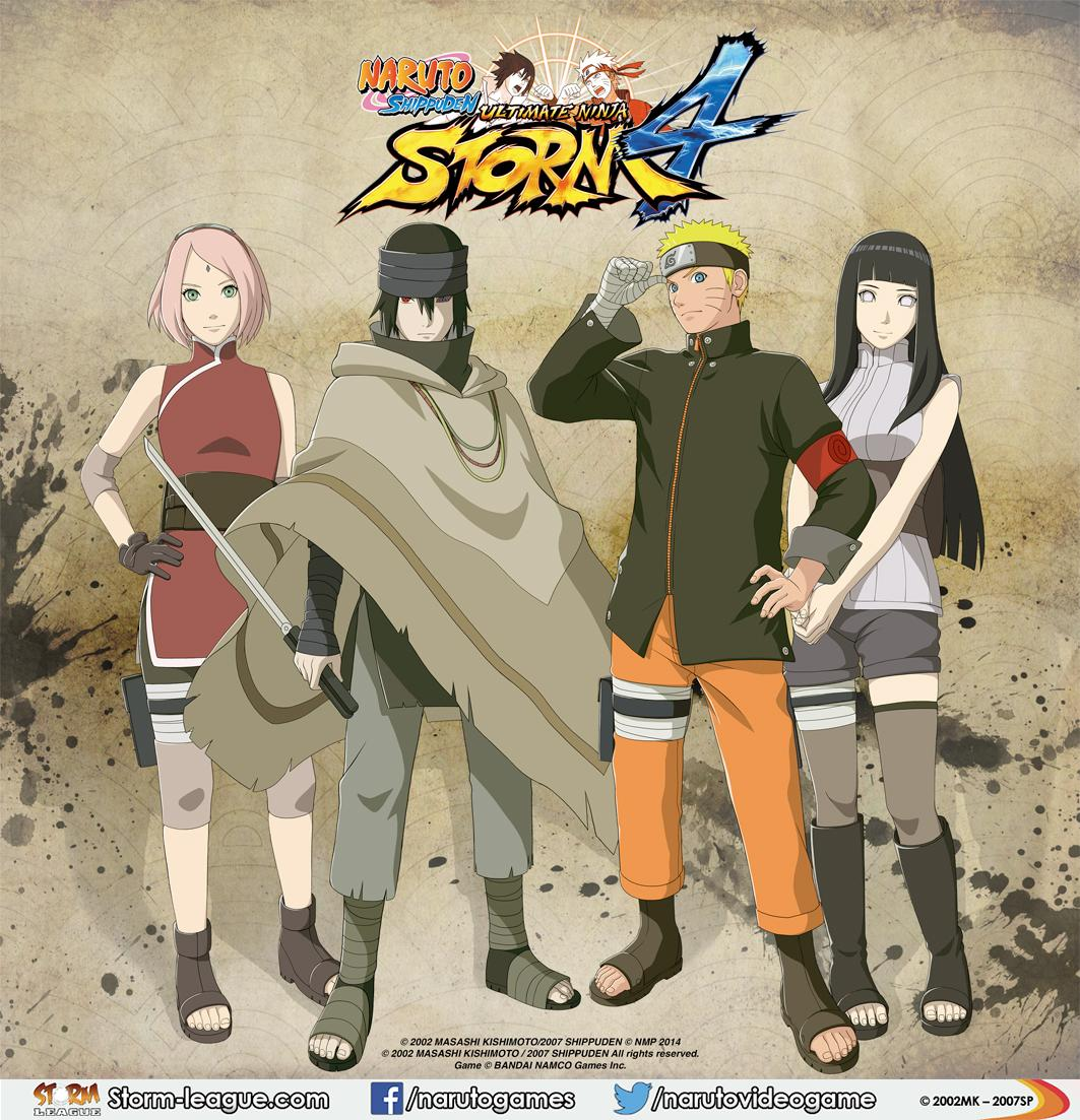 Naruto Video Games On Twitter Naruto Sasuke Hinata And Sakura From The Last Naruto The Movie Will Be Included In Naruto Storm4 Http T Co K9mamfqchv