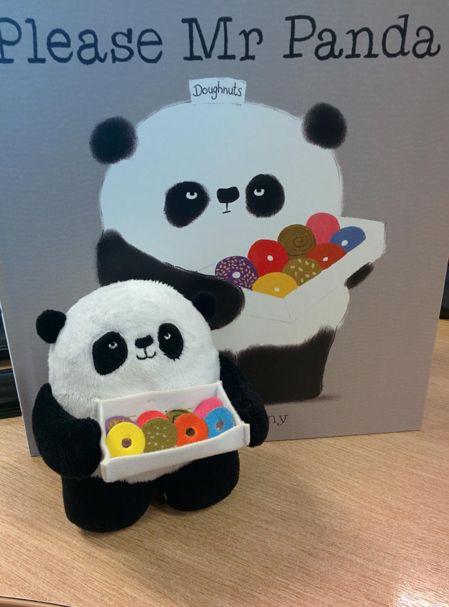 A #BlueMonday #PleaseMrPanda treat to cheer up all those grumpy faces! RT to win this little guy &the book! (UK only) http://t.co/pPpy9Vhk85