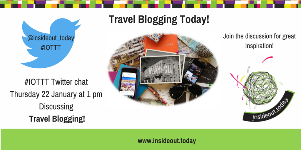Thumbnail for Travel Blogging Twitter Chat