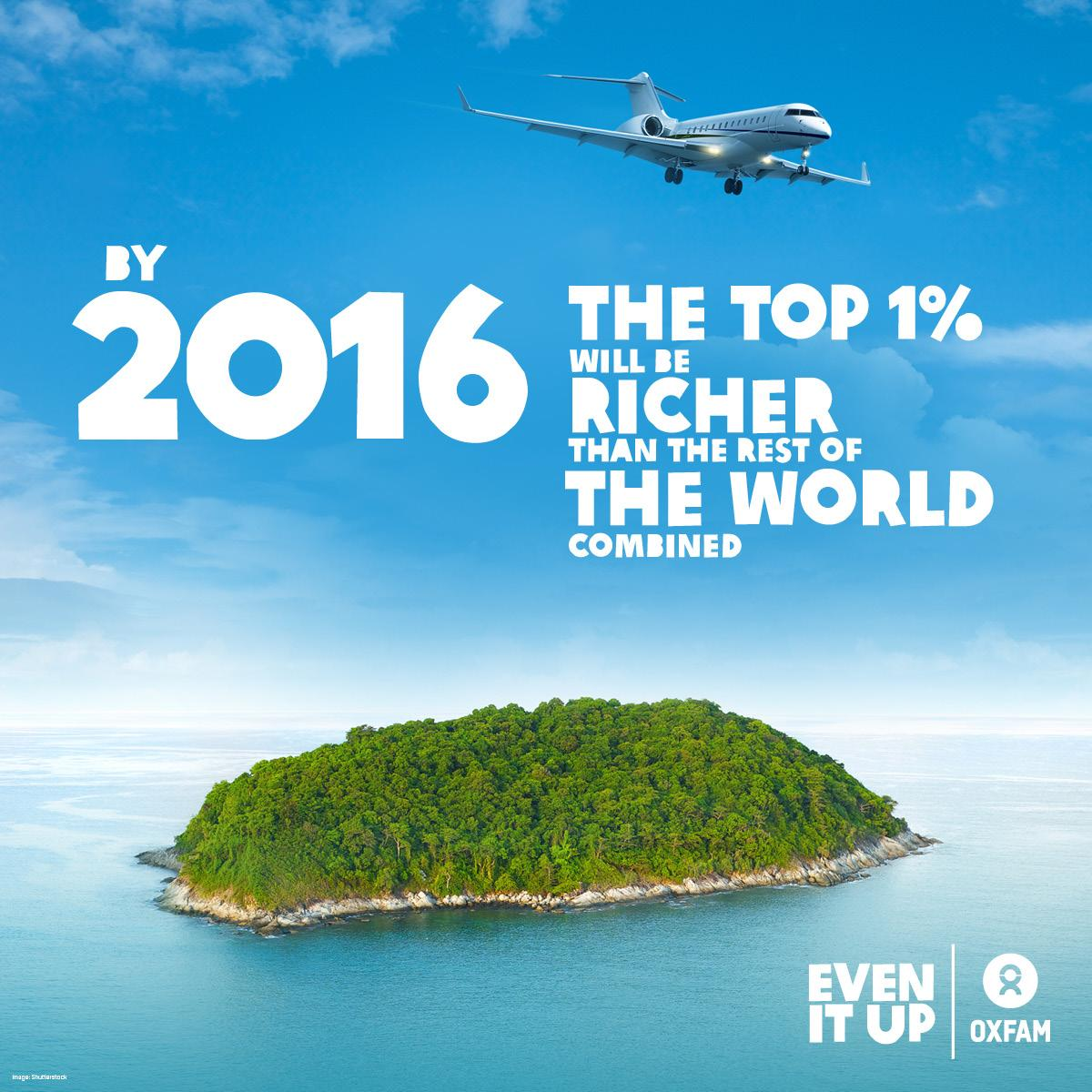 Staggering #inequality: top 1% will own 50% of world's wealth by 2016. You can help #EvenitUp! http://t.co/176qNENAXj http://t.co/rfMHKmVWRq