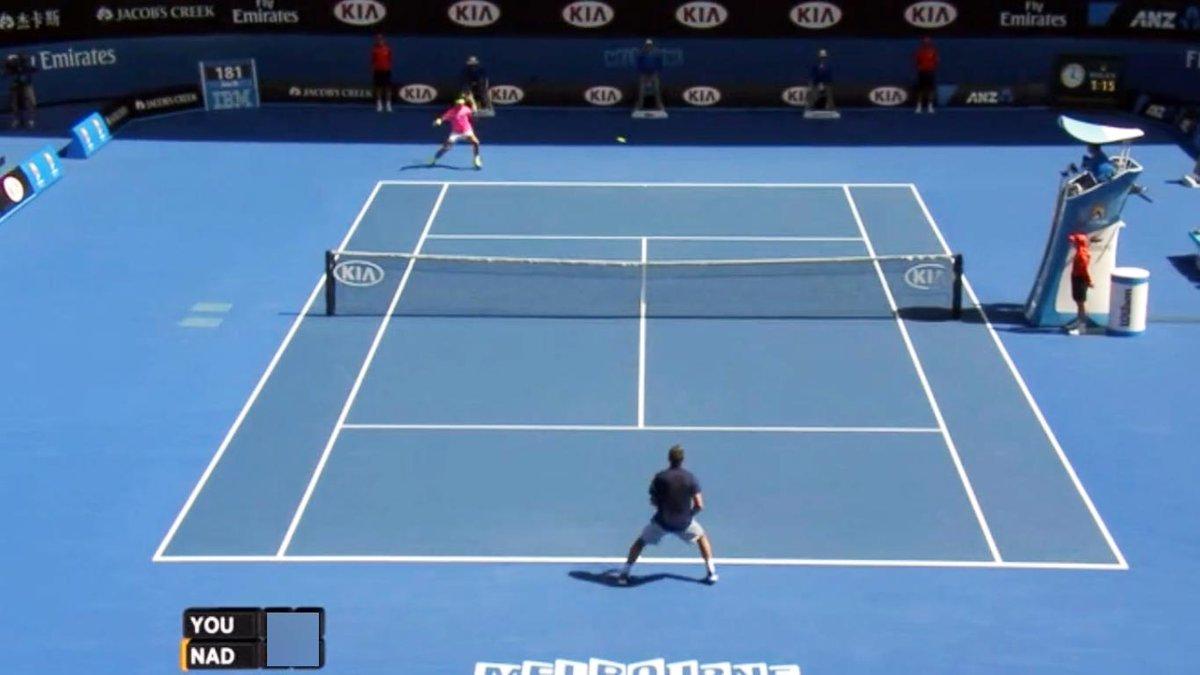 Nadal-Youzhny Australian Open 2015