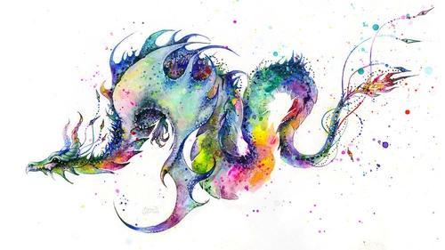 虹の龍はみんなの想いが調和した龍。 http://t.co/RybgJgi4e5