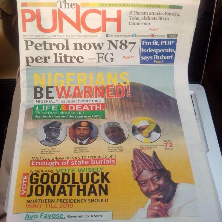 Dirty Politics! PDP Have Gone Too Far With This Political Advert [MUST SEE PHOTOS]