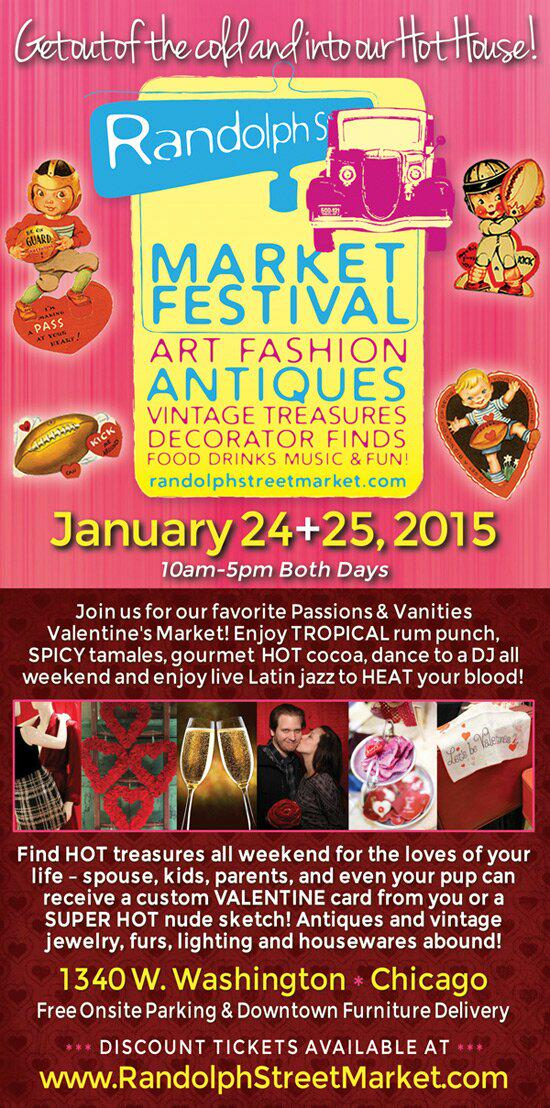 THIS WEEKEND! Jan 24+25 @randolphmarket SHOP 4 your Passions & Vanities! #westloop #chicago #shopping #chicagotourist http://t.co/uVHdlFpmAR