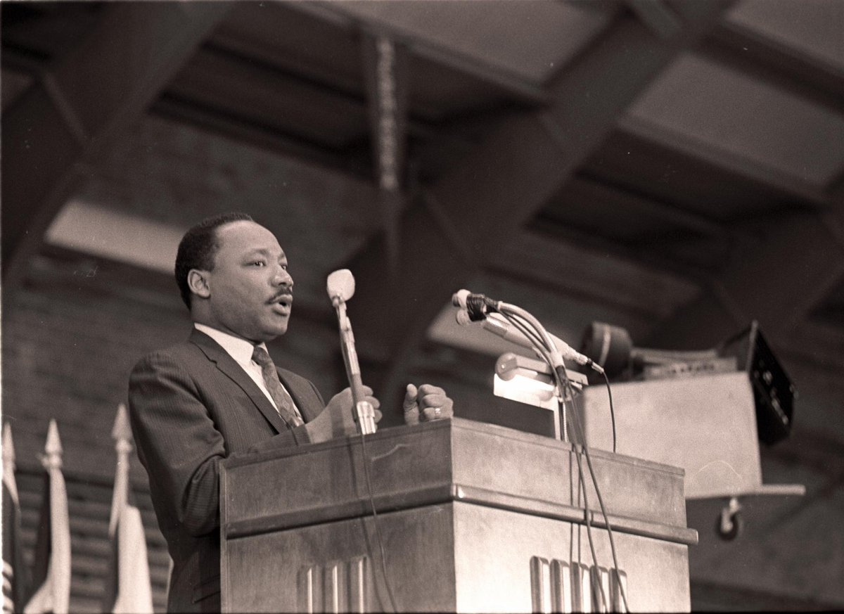 Exactly 47 years ago, Dr. Martin Luther King, Jr. gave his last university address at #KState. http://t.co/WI7XXQKtYM http://t.co/bTcQjT3nqA