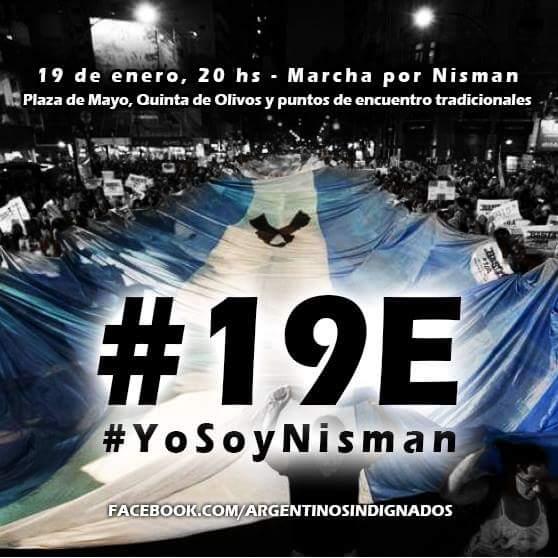 """El silencio nos hace cómplices. #Mendoza: 20 hs. Peatonal y San Martín. #19E #Nisman http://t.co/F7ITFHm6NS"""""""""""