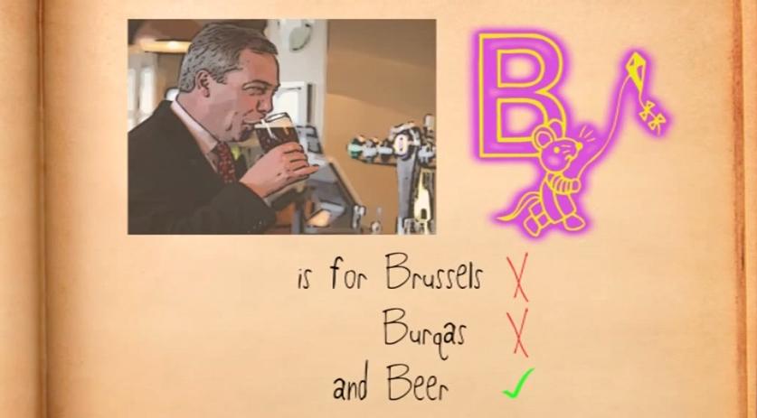 RT @HuffPostUKCom: Learn your ABCs with the Ukip alphabet! http://t.co/guTRbjdyPq http://t.co/4LFGcbDnhG