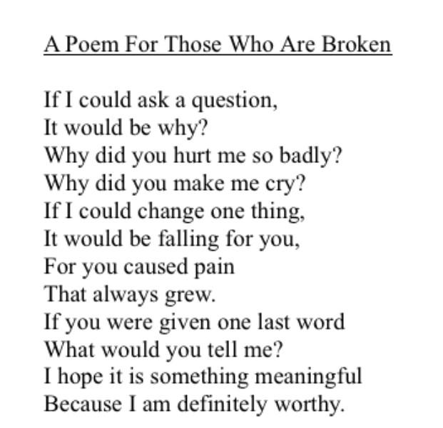 """Emo Poems: Hanna Griffin On Twitter: """"Plz Enjoy These Emo Poems I"""
