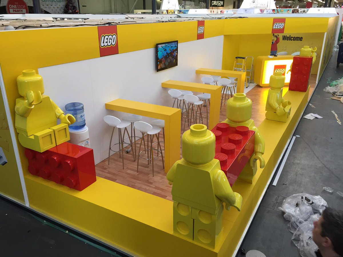 Exhibition Booth London : Lego booth at london toy fair neoape