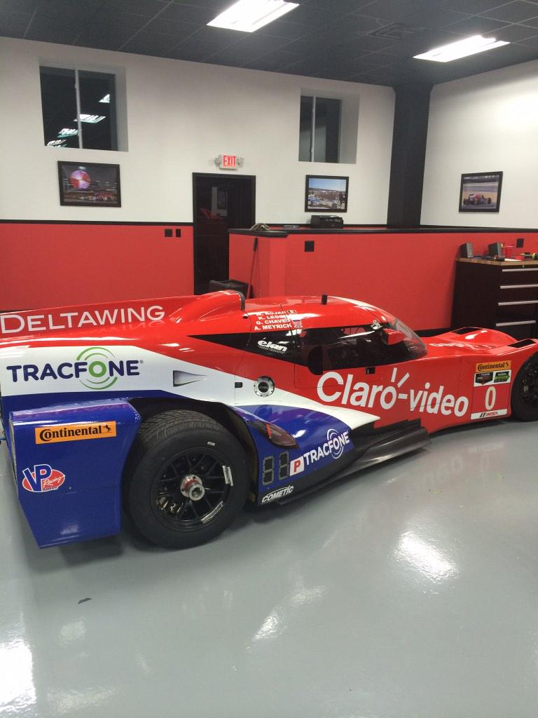 We have a new livery on the @DeltaWingRace this year. I may be biased but I think she looks fast! http://t.co/hP5IPAK671