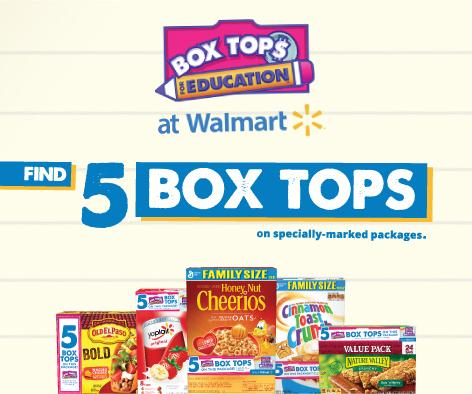 Look for 5 Bonus Box Tops on more than 100 products, while supplies last, only at @Walmart. http://t.co/sfeJMNWkLa http://t.co/v1f3FyJRte