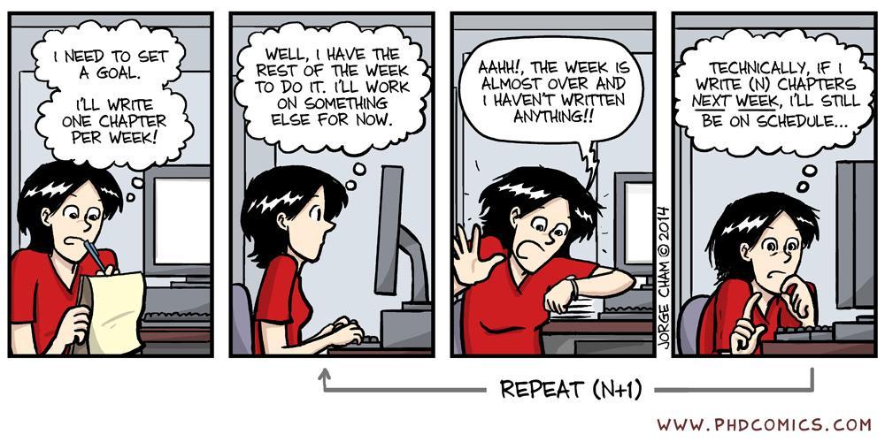 Funny thesis status