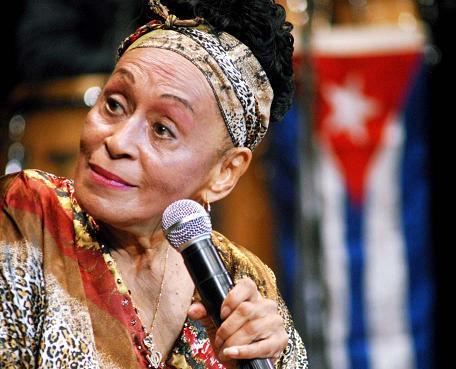Se presenta hoy cubana Omara Portuondo en Festival Temporada Alta de España