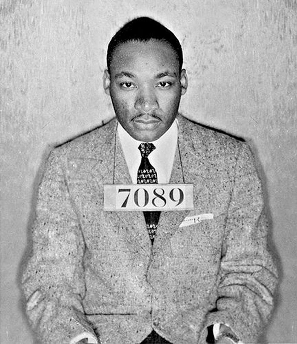 MLK, arrested more than 30 times trying to right the wrongs of the world around him | #ProudToBeAProblem http://t.co/Lj34Scx1Ld