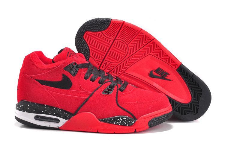 zapatillas nike niños rojas