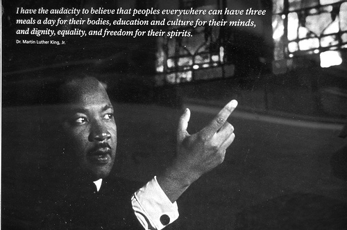 """I have the audacity to believe that peoples everywhere can have 3 meals a day..."" #MLK @NobelPrize '64 h/t @_fsne http://t.co/BhlwxsKUh0"