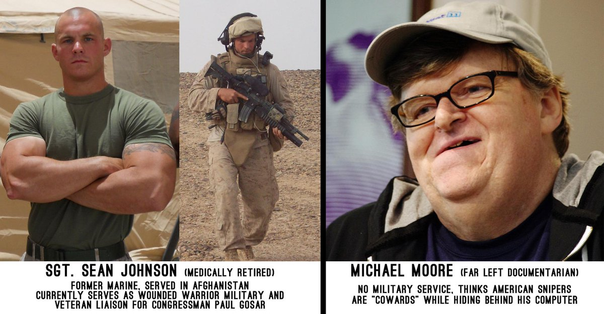 A Reply to Michael Moore and the Left on Military Snipers: http://t.co/jCymsdVBXi @MMFlint @AmericanSniper http://t.co/R6ZBUCA5mu